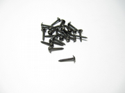Kuza 3mm x 18mm Socket Head W/shoulder  Servo Mounting Screws Black